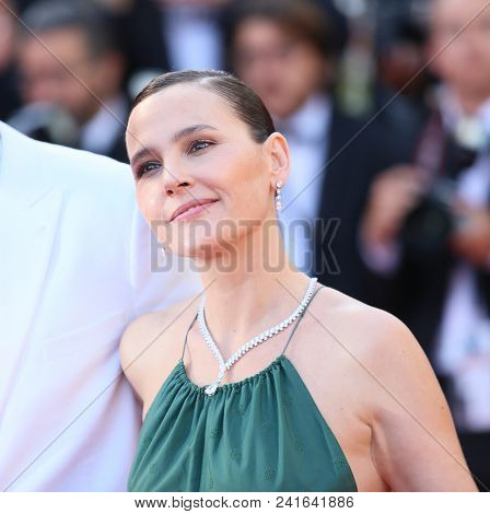 Virginie Ledoyen attends Closing Ceremony during the 71st  Cannes Film Festival at Palais des Festivals on May 19, 2018 in Cannes, France.