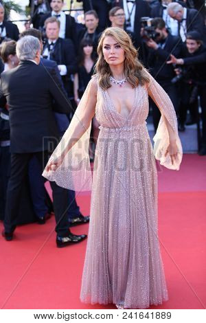 Victoria Bonya attends Closing Ceremony during the 71st  Cannes Film Festival at Palais des Festivals on May 19, 2018 in Cannes, France.