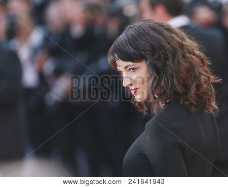 Asia Argento attends Closing Ceremony during the 71st  Cannes Film Festival at Palais des Festivals on May 19, 2018 in Cannes, France.