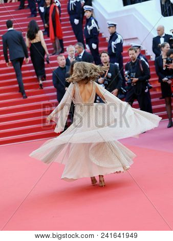 Atmosphere attends Closing Ceremony during the 71st  Cannes Film Festival at Palais des Festivals on May 19, 2018 in Cannes, France