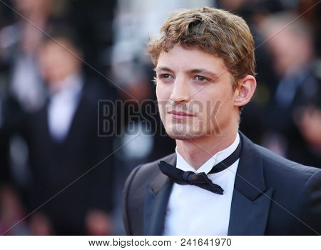 Vassili Schneider attends Closing Ceremony during the 71st  Cannes Film Festival at Palais des Festivals on May 19, 2018 in Cannes, France.