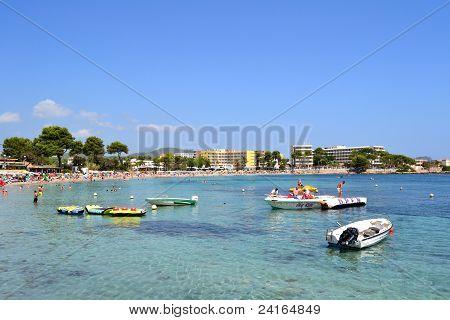 Es Cana Beach Ibiza, Spain