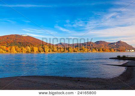 The River Rhine, Germany