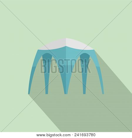 Hight Tent Icon. Flat Illustration Of Hight Tent Vector Icon For Web Design