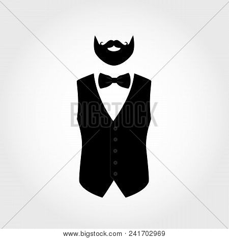 Suit Icon Isolated On Vector \u0026 Photo (Free Trial)