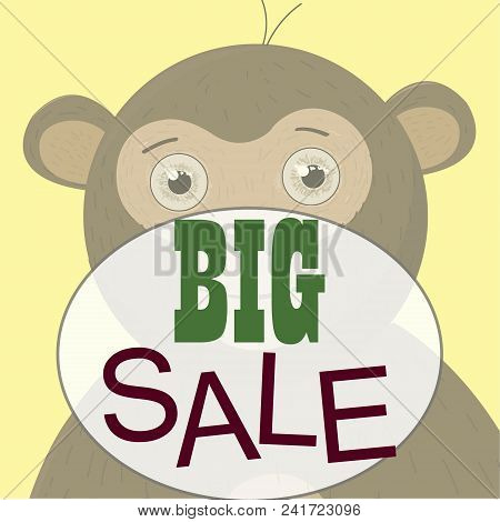 Monkey T-shirt Graphics Cute Cartoon Characters Cute Graphics For Illustrations Textile Graphic