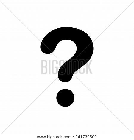 Question Mark Icon Vector In Modern Flat Style For Web, Graphic And Mobile Design. Question Mark Ico
