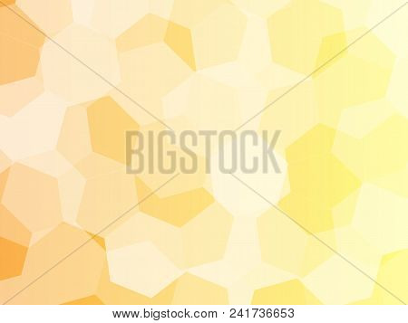 Vector Hexagons Background. Geometric Pattern. Graphic Or Website Layout. Abstract Vector With Color