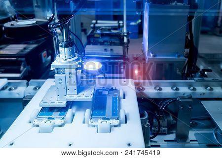 Robotic vision sensor camera system in phone intellegence factory