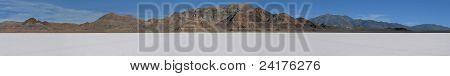Bonneville Salt Flats Panorama