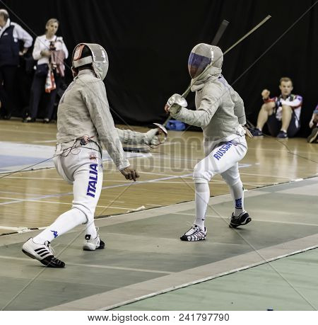 Spain May 19 2019 International Federation Of Fencing World Championship Villa De Madrid