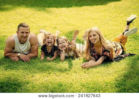 Child Childhood Children Happiness Concept. Vacation, Leisure, Activity, Lifestyle Concept. Mothers