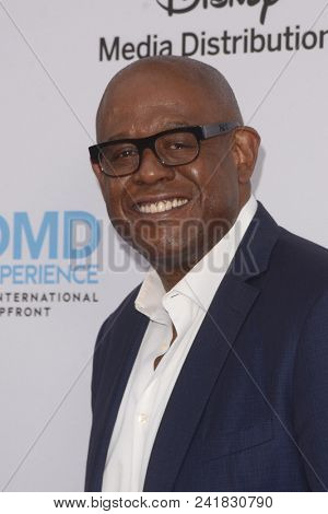 LOS ANGELES - MAY 20:  Forest Whitaker at the Disney ABC International Upfront at the Walt Disney Studios on May 20, 2018 in Burbank, CA