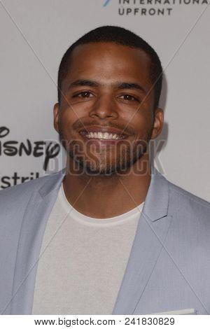 LOS ANGELES - MAY 20:  Chris Warren at the Disney ABC International Upfront at the Walt Disney Studios on May 20, 2018 in Burbank, CA