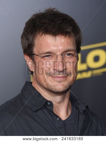 LOS ANGELES - MAY 10:  Nathan Fillion arrives to the