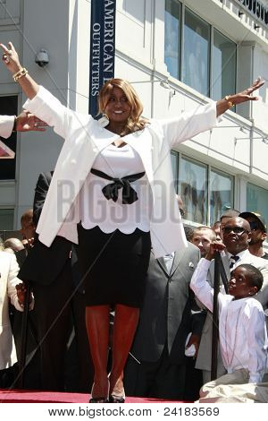 LOS ANGELES - MAY 2: Actor-rapper Sean 'P Diddy' Combs' mother Janice at the ceremony honoring him with a star on the Hollywood Walk of Fame on May 2, 2008 on Hollywood Boulevard in Los Angeles, CA