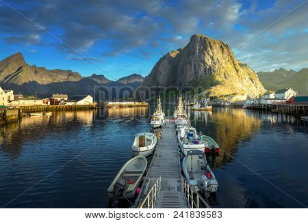 sunset - Reine, Lofoten islands, Norway