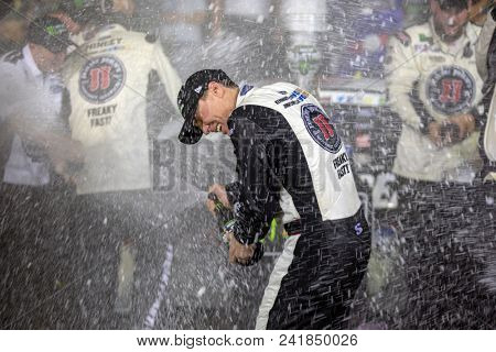 May 19, 2018 - Concord, North Carolina, USA: Kevin Harvick (4) wins the Monster Energy All-Star Race at Charlotte Motor Speedway in Concord, North Carolina.