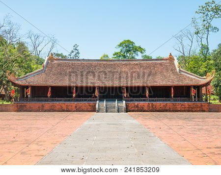 The Lam Kinh Temple In Xuan Lam And Lam Son Townlet Of Tho Xuan District, Thanh Hoa, Vietnam. The Te