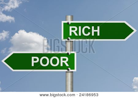 The Way To Rich Or Poor