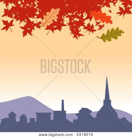 Town Landscape-071165.Eps