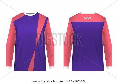 Templates Jersey For Mountain Biking. Jersey For Motocross, Extreme Cycling, Downhill. Sublimation P