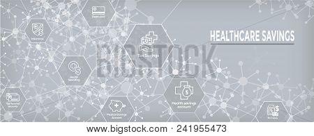 Medical Tax Savings Web Header Banner - Health Savings Account Or Flexible Spending Account - Hsa, F