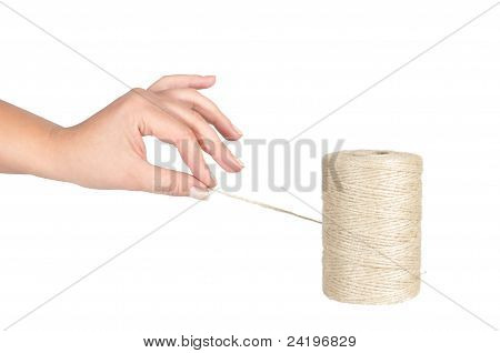 hand and clew