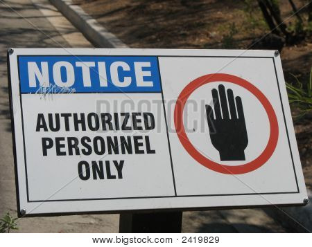 Authorizedpersonnelonly