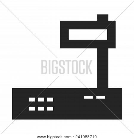 Electronic Balance Icon Simple Vector Sign And Modern Symbol. Electronic Balance Vector Icon Illustr