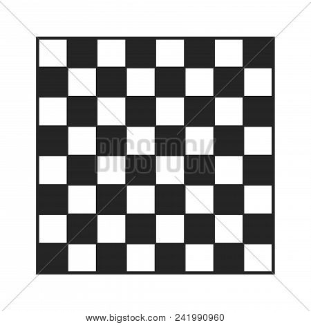 Checkered Board Icon Simple Vector Sign And Modern Symbol. Checkered Board Vector Icon Illustration,
