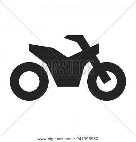 Motorbike Icon Simple Vector Sign And Modern Symbol. Motorbike Vector Icon Illustration, Editable St