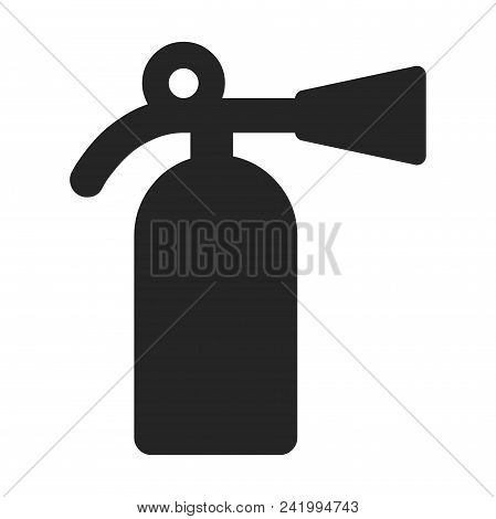 Fire Extinguisher Icon Simple Vector Sign And Modern Symbol. Fire Extinguisher Vector Icon Illustrat