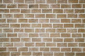 Interior Clean Brick Wall Background, Stock Photo