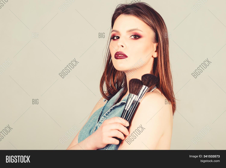 Makeup Dark Lips Image Photo Free