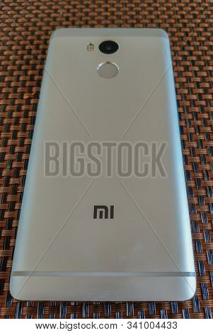 Pardubice, Czech Republic - July 22, 2018: Xiaomi Redmi Note 4 Silver Smartphone Developed By Xiaomi