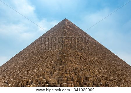 The Enormous Great Pyramid Of Egypt, A 6-million-ton Ancient Wonder In Cairo