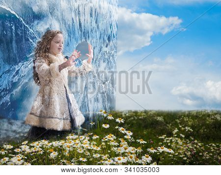 Fantastic Story About A Little Girl And An Ice Wall