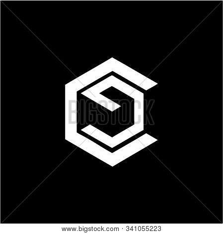 Simple Ce, Cg, Ec, Gc Initials Company Logo