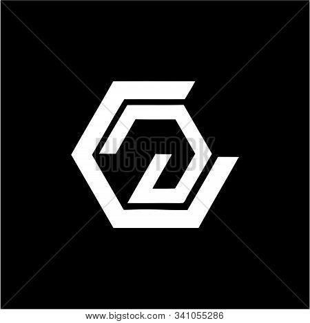 Cg, Gc Initials Geometric Company Logo And Vector Icon