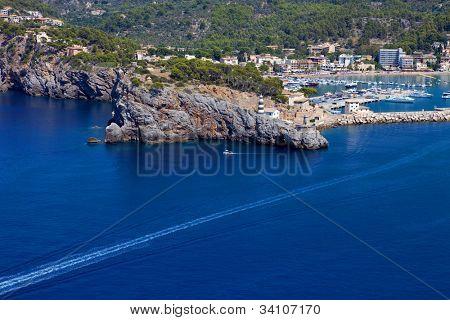 Port of Andratx in Mallorca island, Spain