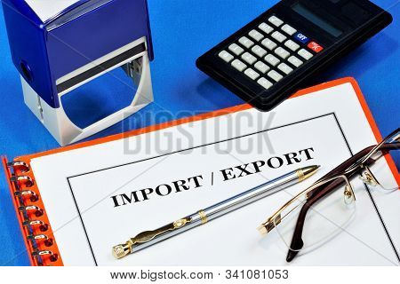 Import-export. Import - Import Into The Country From Other Countries Of Goods, Works, Services, Resu