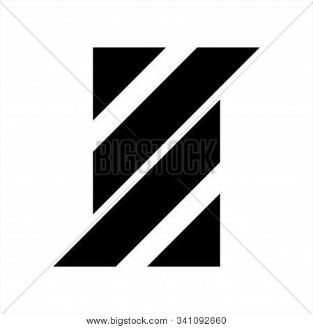 S, Aa, Ll Initials Geometric Letter Company Logo