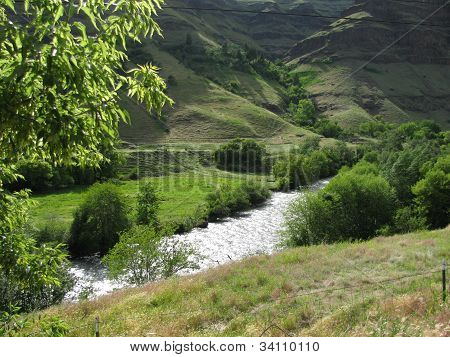Peaceful River Valley