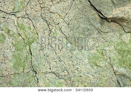 Texture On The Surface Of Rock