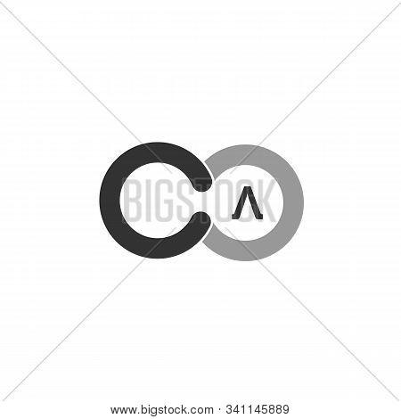 Letter C O Infinite Logo Design Vector Template.