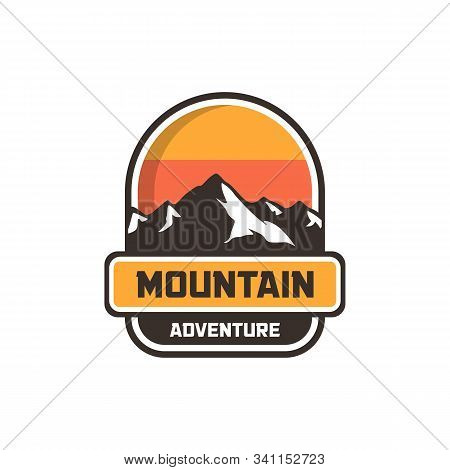 Mountain Logo, Mountain Logo Vector, Hill Logo, Mountain Symbol, Mountain Logo Template, Modern Styl