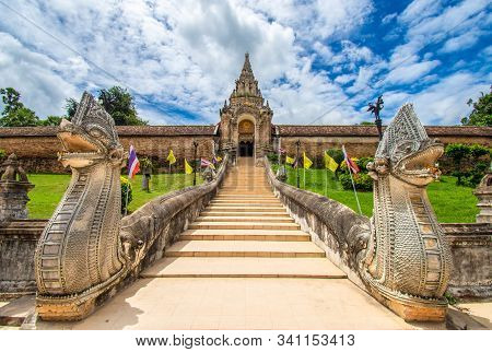 Wat Phra That Lampang Luang Is A Lanna Style Buddhist Temple. It Is A Favorite Of Tourists Located I