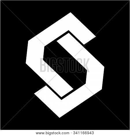 Simple S, Csc, Jsj, Jj, Ll, Lsl Initials Geometric Company Logo