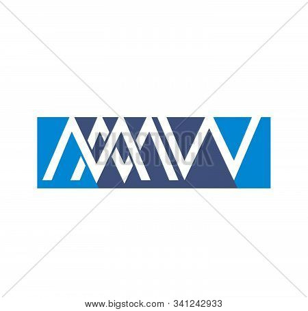 Mmw, Mww, Wwm Initials Company Vector Logo And Icon